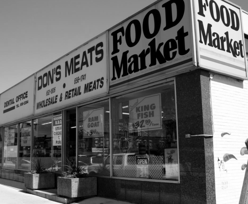 1747 St. Clair Ave West- formerly Don's Meats. Found image.