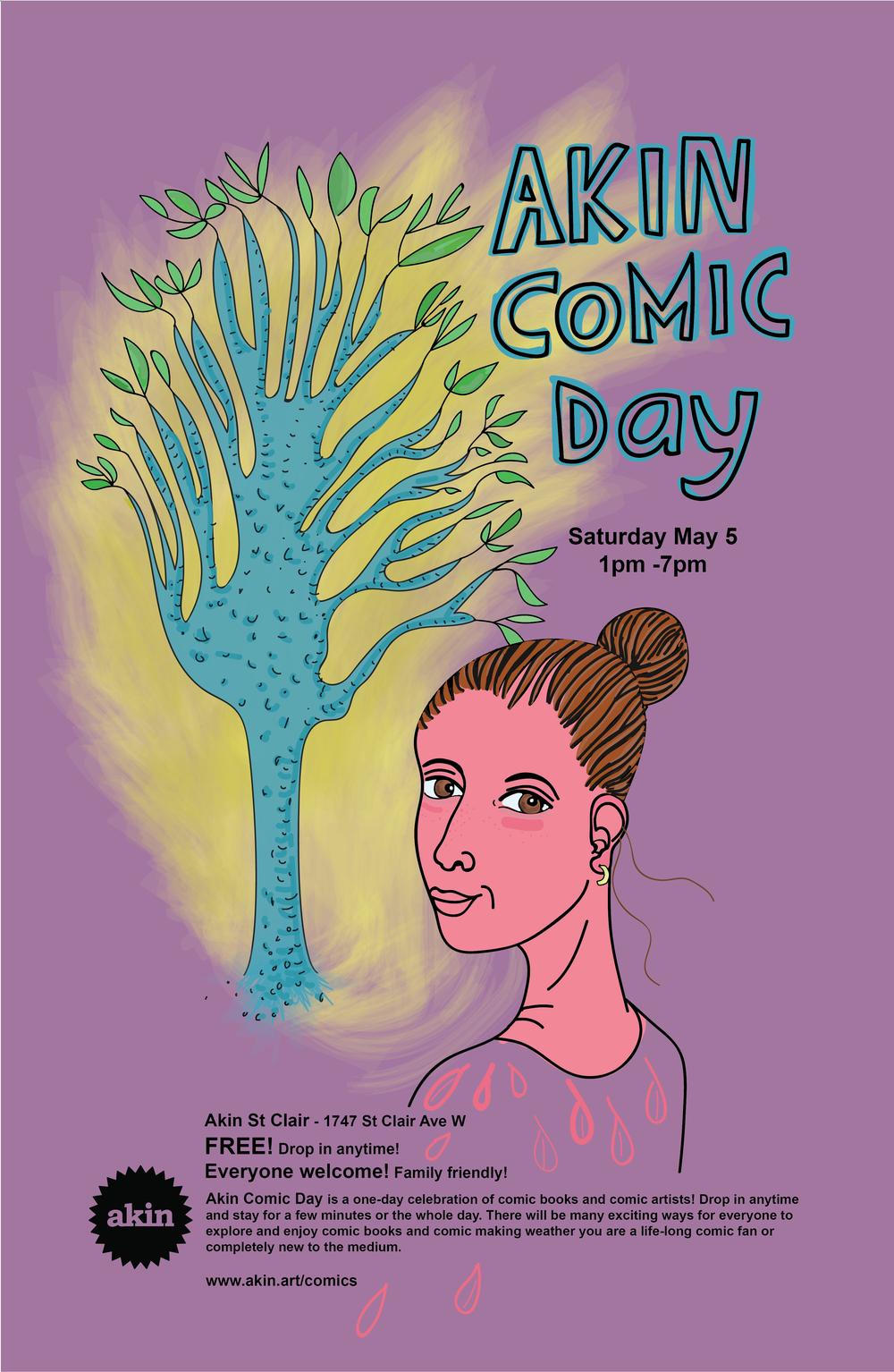 Event Poster by Sarvenaz Rayati of Akin Lansdowne
