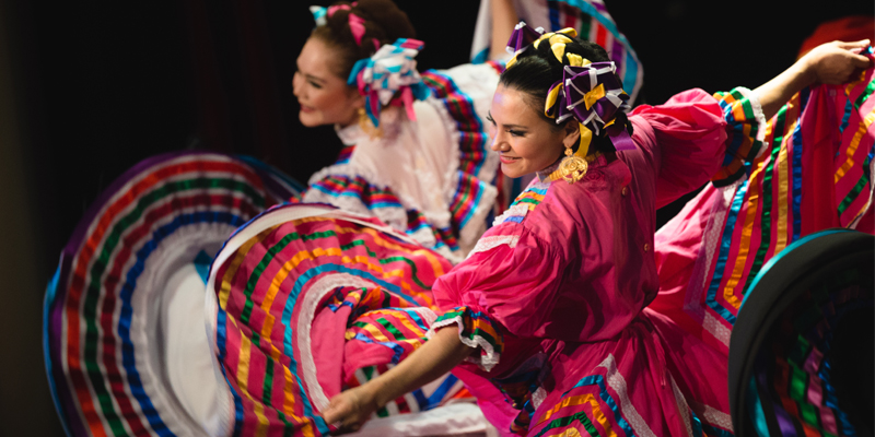 Photo credit: Brendan Albert, Ballet Folklorico Puro Mexico