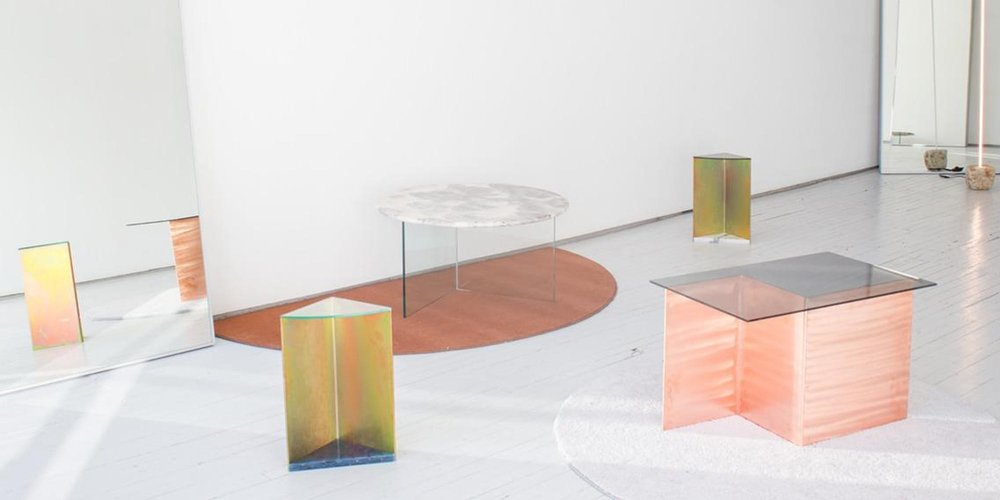 Installation view at Erin Stump Projects, 2019