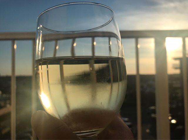 Summer tease. #vino #decklife #nofilter