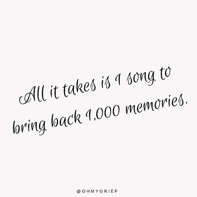 Music is so powerful. 🎶 I am sure we have all had the experience of driving along the road when a song comes on the radio that immediately takes us back to a certain time in history.⠀ ⠀ Naomi and I had our honeymoon in the Maldives 19 years ago. ❤️ I recall the same artist was played over and over again, we grew to hate it and love it, even buying what became our favorite song on our return to Australia so we could always 'go back to that moment'. The song was called 'Change the World' by Zucchuro.⠀ ⠀ Music can transport us to other places, other moments, other emotions... what song does that for you?⠀ ⠀ #grief #ohmygrief #griefandloss #quote #quotes #instaquote #inspirationalquotes #dailyquotes #griefquotes #lossofalovedone #quoteoftheday #remembering #remeber #neverforget #bereavement #death #life #quotesandsayings #quotesofinstagram