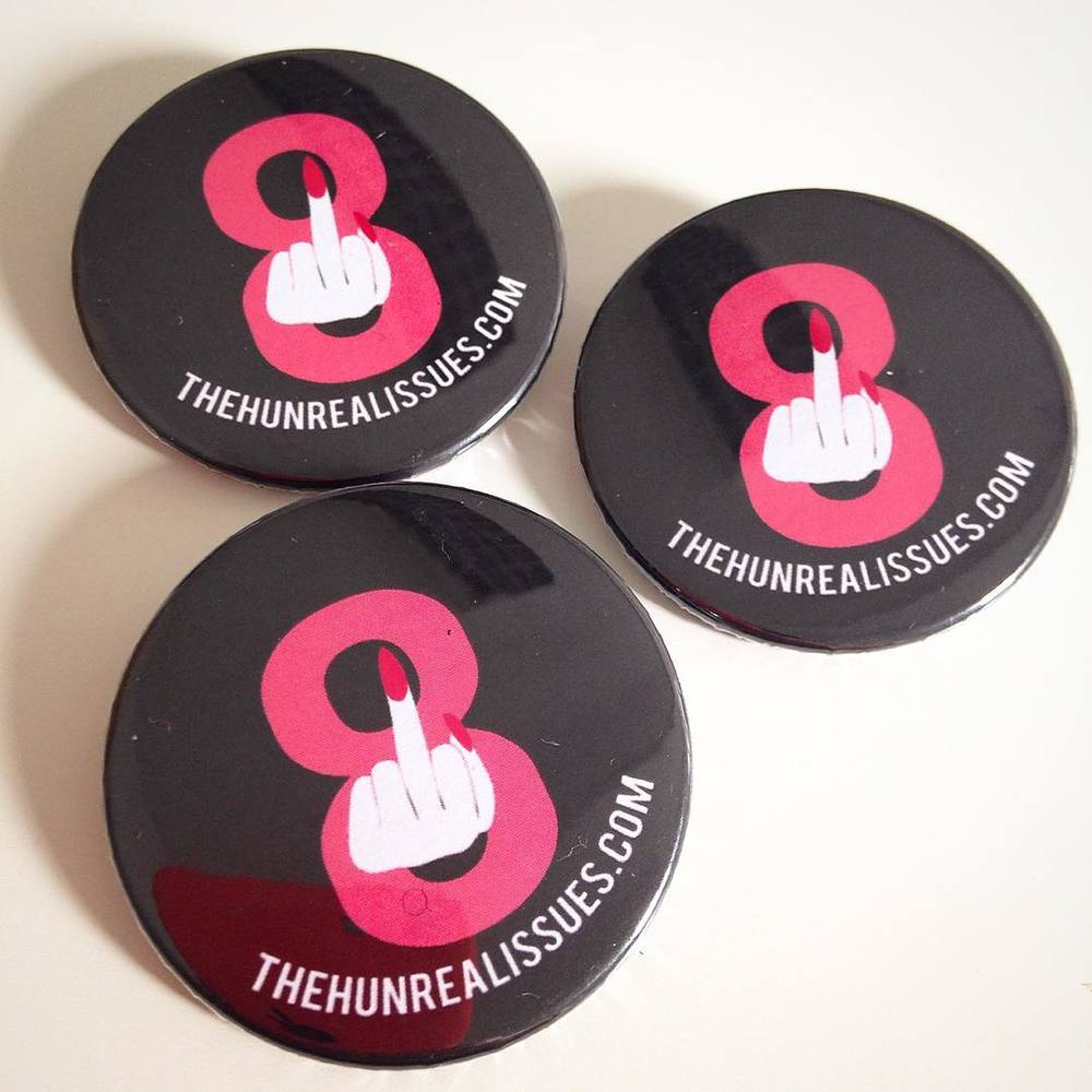 Repeal the 8th badges for The Hunreal Issues