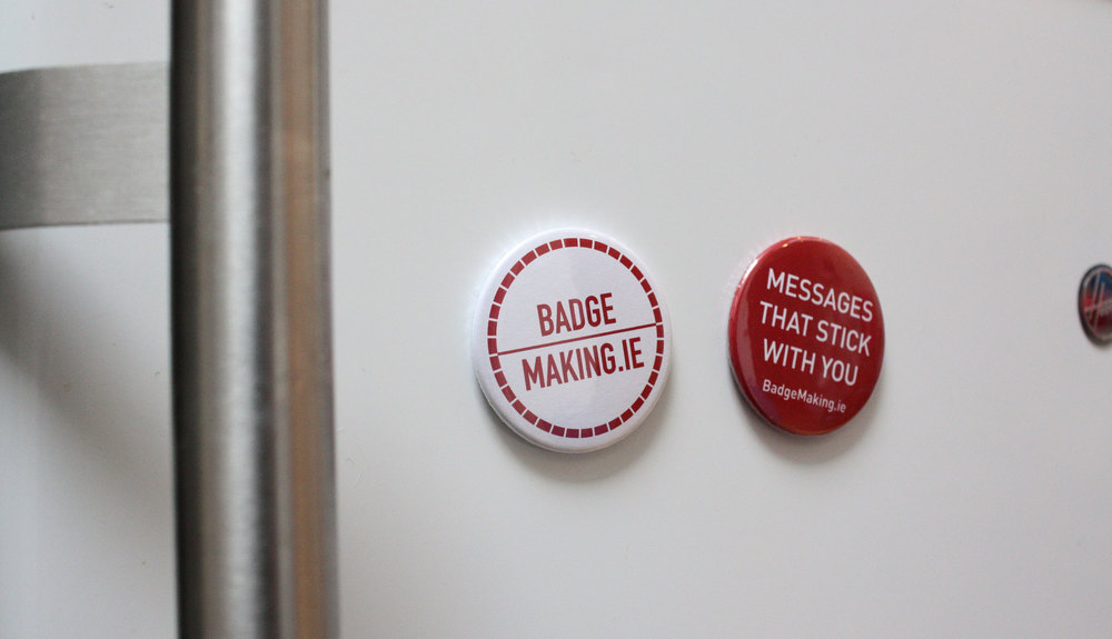 38mm and 58mm Fridge Magnets