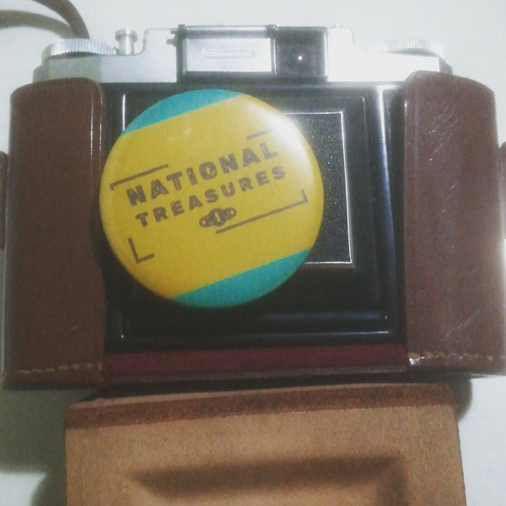 National Treasures badge