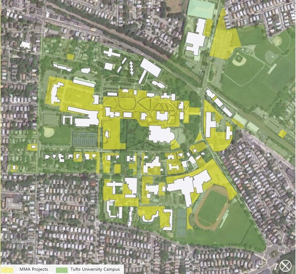 Tufts Medford Campus Map.Campuses Marc Mazzarelli Associates