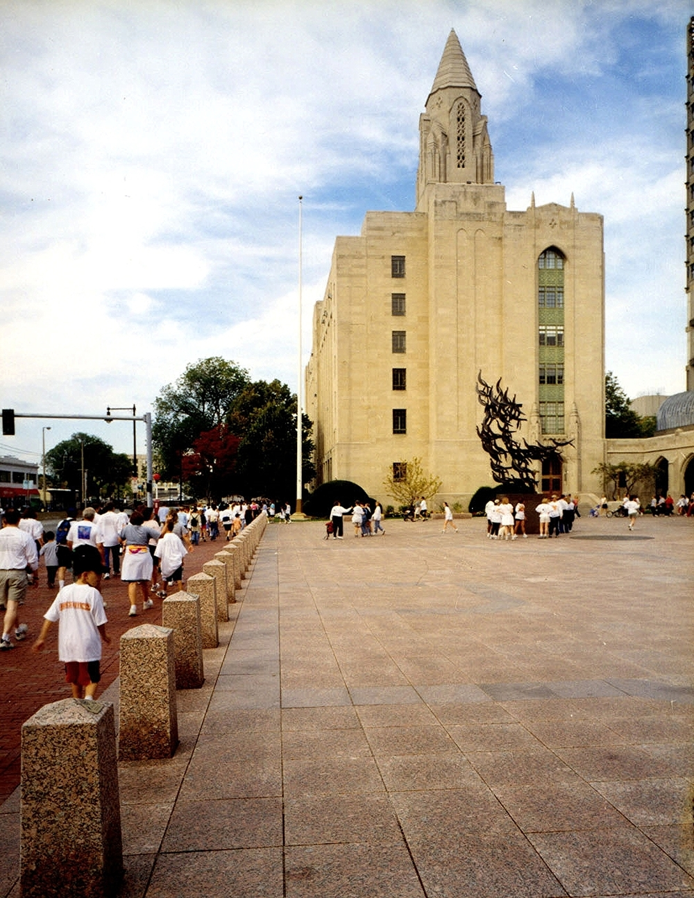 Boston University   Marsh Plaza