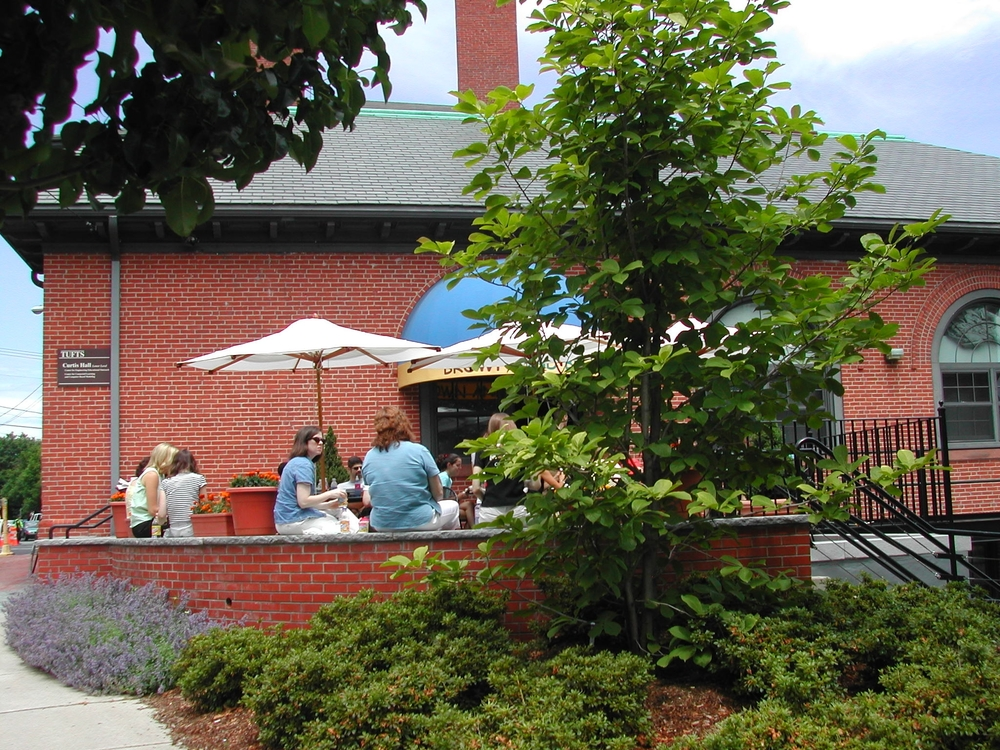 Tufts University        Cafe Terrace