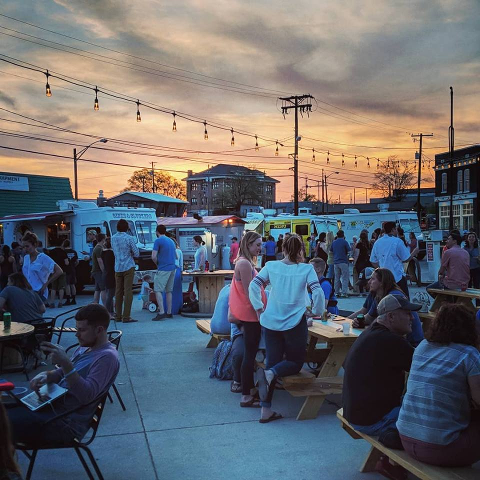 July Happy Hour at Central Filling Station — Young