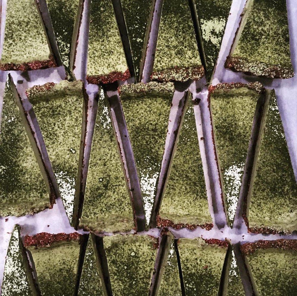 MATCHA COCONUT CHOCOLATE TART  -  Inspired by Amy Chaplin