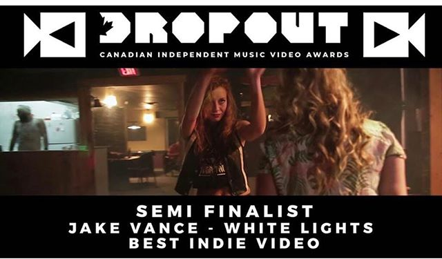"""Somehow, the video for """"White Lights"""" has made it to the finals for """"Best Independent Music Video in Canada"""" Not even sure who nominated it, but we're happy to be there! Special thanks to everyone who donated their time and talent to help get it made! Click on the link in my bio to give us a vote!"""