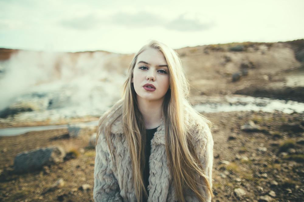 Katrín in Iceland