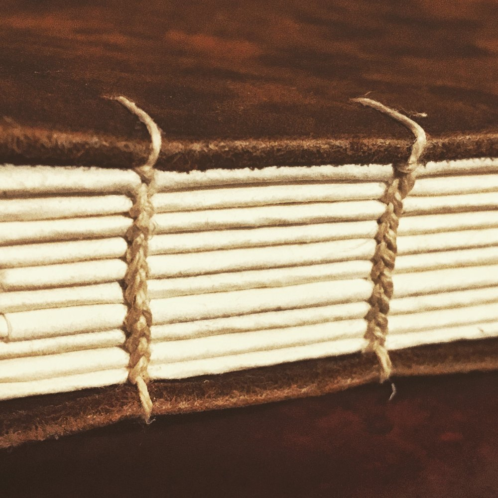 Coptic binding sample.