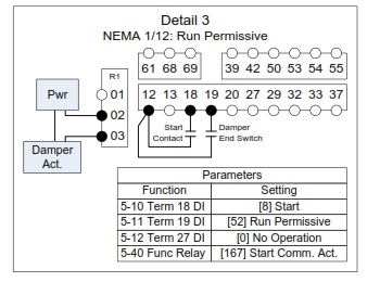 Danfoss VFD Relay Delay Settings — InControl on