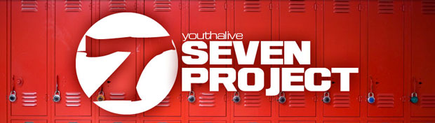 The Seven Project Connecting your community to share Jesus Outreach The Seven Project serves as a catalyst to mobilize and equip Christian communities to reach out to schools. The Seven Project is not merely a school assembly or evening rally. It is a comprehensive outreach strategy that equips and trains leaders and students in effective evangelism and discipleship. The Seven Project Key Components: School assemblies deal with real life and character issues faced by students. These programs include video segments that deal with anti-violence, scholastic achievement, peer pressure, integrity, substance abuse, abstinence, or others. Student leadership development. Christian students are taught how to be a positive influence at their school. Seven weeks prior to the school assembly students are given specific plant to implement at their school before the assembly. Evening events include a clear presentation of the gospel.