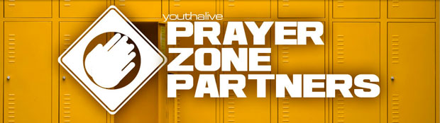 Prayer Zone Partners How can you pray for the students and the schools in your community? Pray for the campus. Students are in the most strategic position to reach their schools with the message of the gospel. Pray for effective campus missionaries and clubs Pray that everyone on campus will receive a clear presentation of the gospel. Pray for the safety of students and staff Pray for the community. Students' lives are influenced by more than just their schools. Pray that God would bless their homes with peace. Pray for safety in the places students like to hang out. Pray for the businesses that are in position to have a positive influence on students. Pray for the church. Students who make a decision to follow Christ must be incorporated into a healthy, Bible-believing church. Pray that students will be loved and accepted by your church. Pray that the adults in your church will become role models and spiritual mentors. Pray for all the ministries in your church that deal with students (Sunday school, Youth ministries, etc.).   More ways to pray: Adults Develop a school of the week rotating prayer list. List one school a week in church announcements and distribute to prayer groups. Pray for the School of the Week (from the church bulletin) at home. Pray as you drive through a school zone. Distribute Prayer Zone Partners brochures and stickers to increase awareness in your church. Schedule a Sunday service to promote prayer for students, schools, and the community through the Prayer Zone Partners program.   Students Pray for your lunch everyday Pray silently for the students sitting around you at the beginning of every class Pray as you walk between classes (Prayer Walk) Pray for your school during See You at the Pole every September www.syatp.com Kneel and pray for 30 seconds, every day, in the hallway or in front of your locker www.30kd.org Everyone