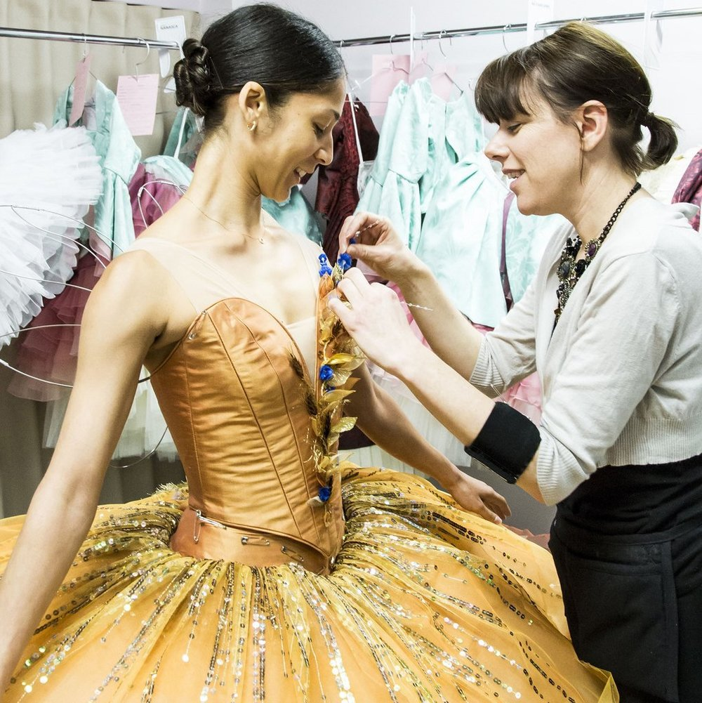 INCU EDITION: MUSETTE MOLYNEAUX OF THE AUSTRALIAN BALLET