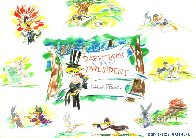 Daffy for President Chuck Jones Images with c-tm.jpg
