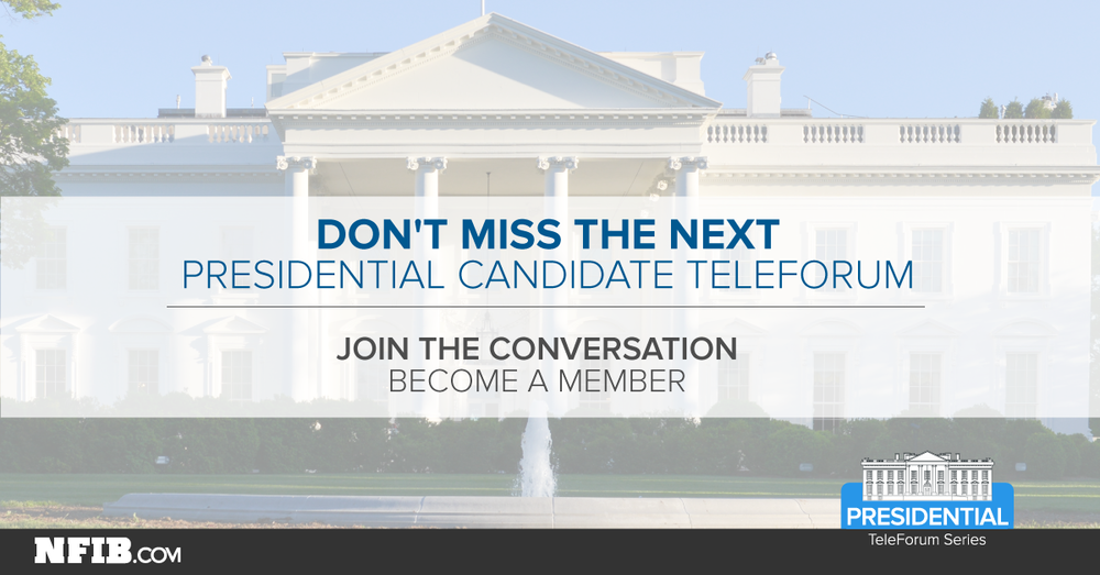Presidential Teleforum Promo