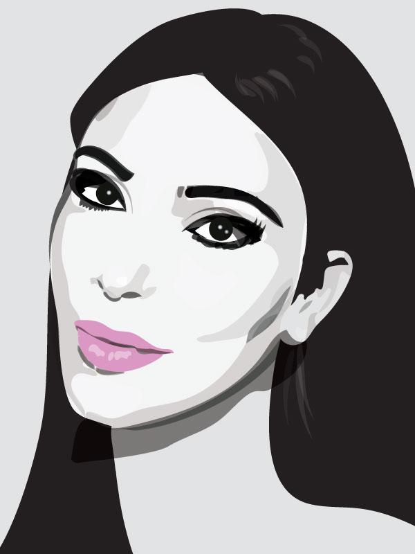 Kim K. Portrait