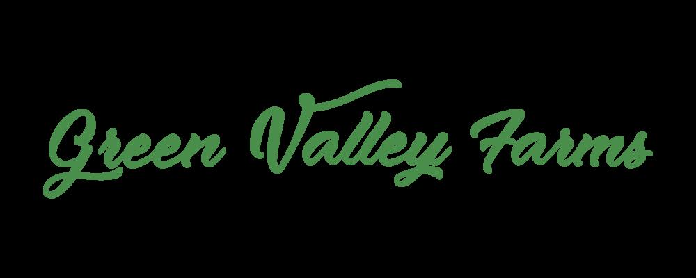 Green Valley Farms Logo Variation