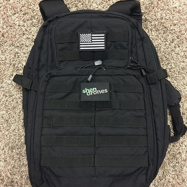 Strix Tactical Flight Pack, this bag is awesome... extremely happy with it.  Of course it wouldn't be complete without Shen love. #shendrones #teamshendrones #patientzero #fpvaddiction #legacybuiltdronesdotcom #strixrc #readymaderc  @strixrc @shendrones @readymaderc