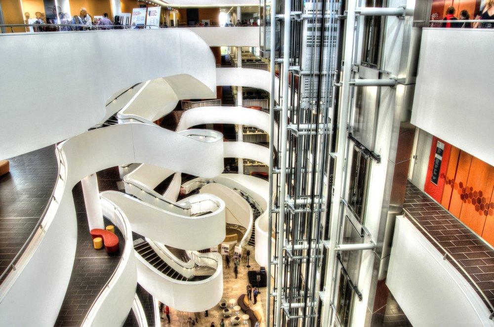 Charles Perkins Centre atrium