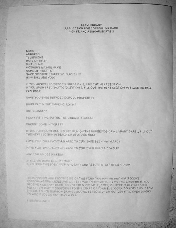 paperwork, 2010