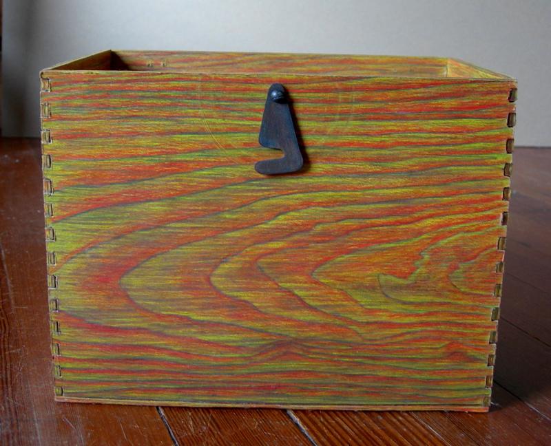 fingerjoint box, 2007