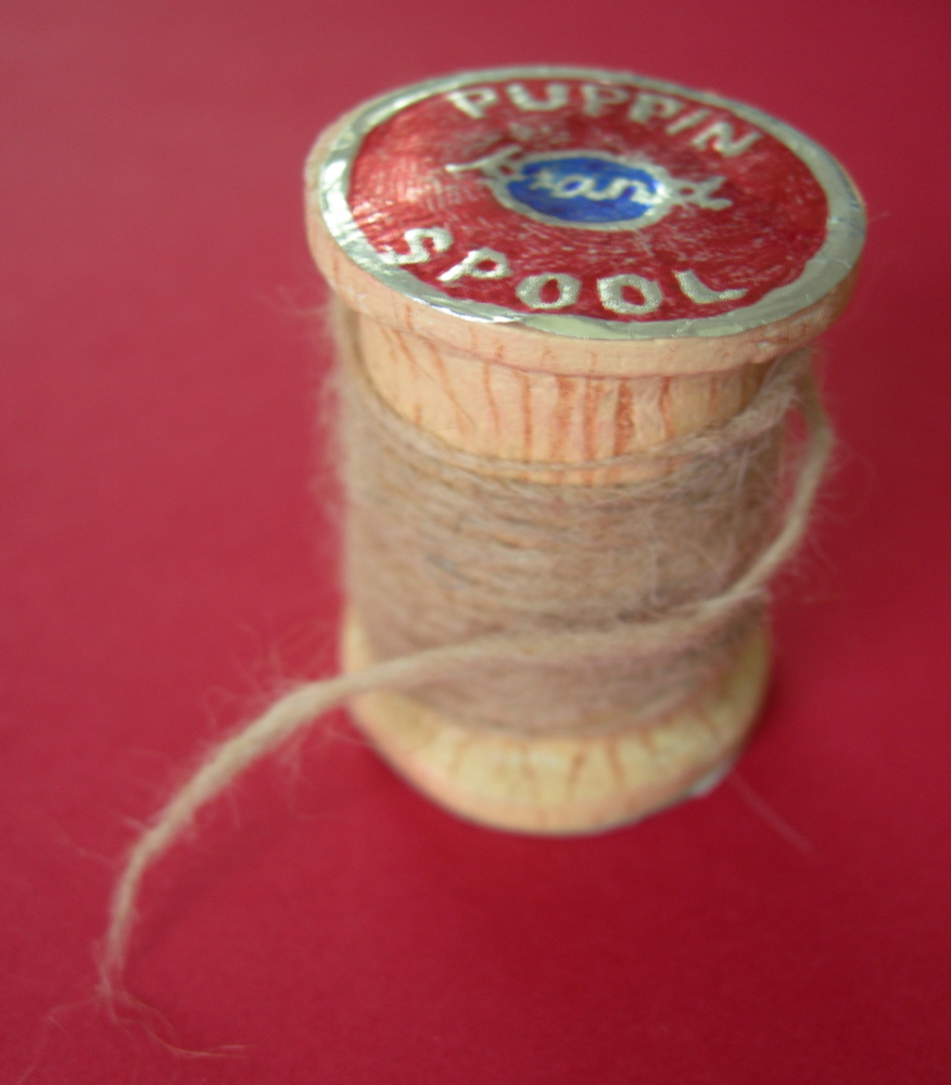 Puppin Brand thread spool, 2009