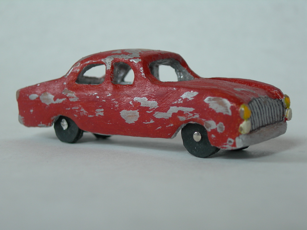 old toy car, 2006