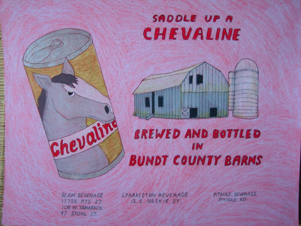 Chevaline beer ad, 2005