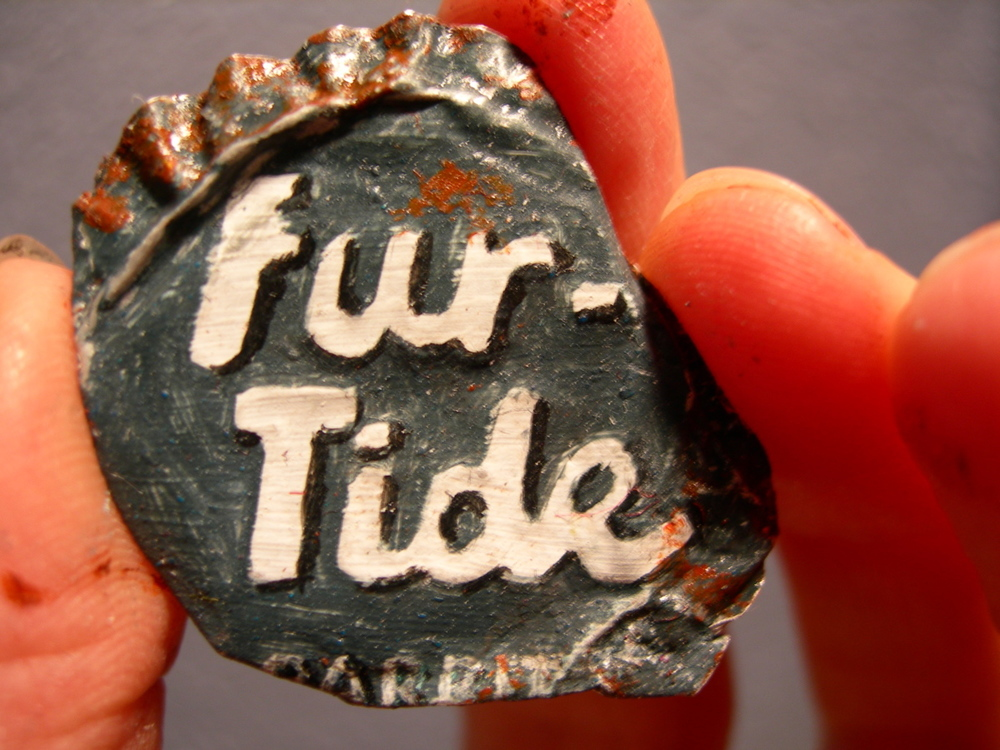 Fur-Tide rabbit soda bottle cap, 2006