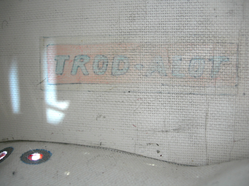 TROD-ALOT sneakers, 2008