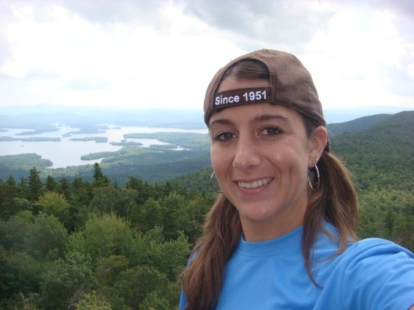 Geralynn with the Mount Major Selfie