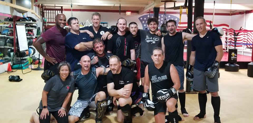 Some of the sparring crew from The Training Station - You might see a few of these folks at the event.