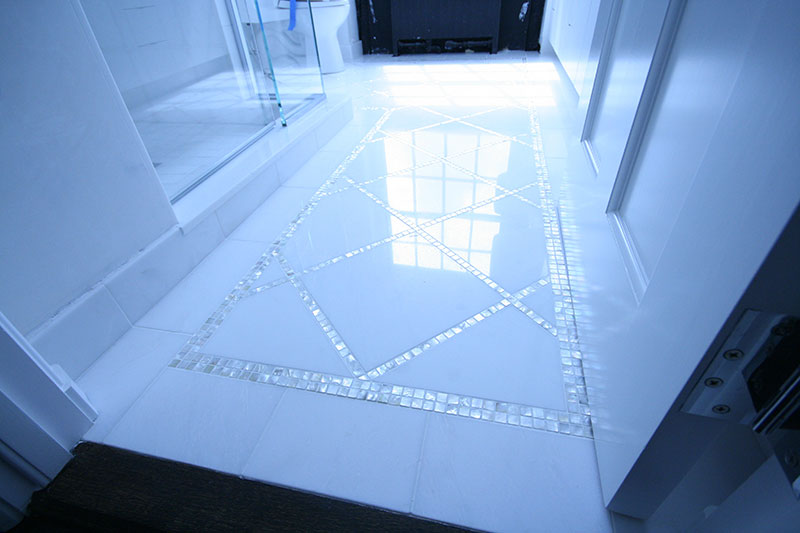 Glass floor tiles uk