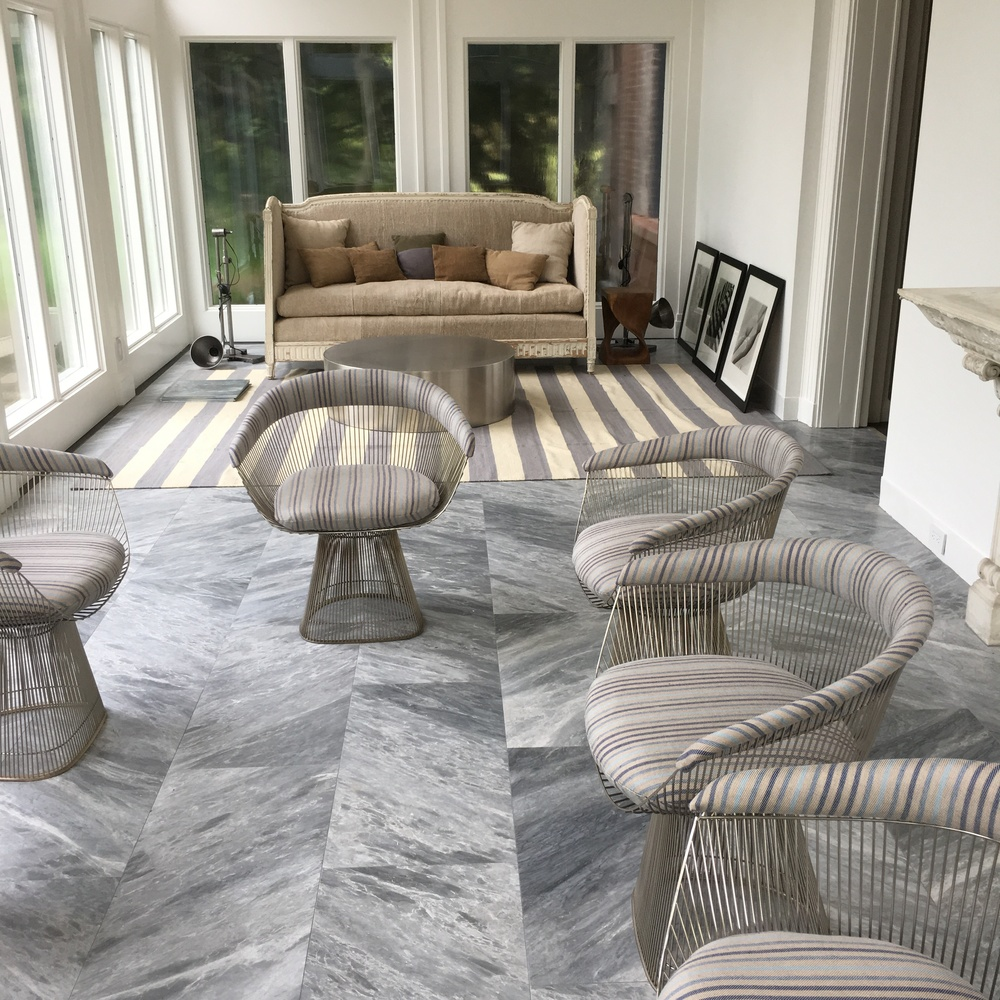 Large Marble Tiled Sunroom
