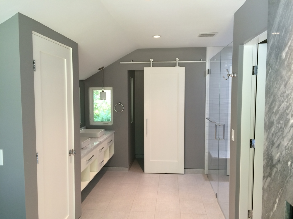 Renovation project in Hingham