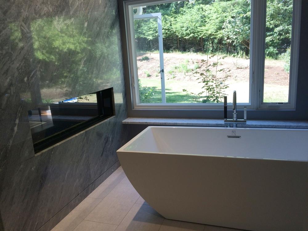 Bath Renovation Project in Hingham