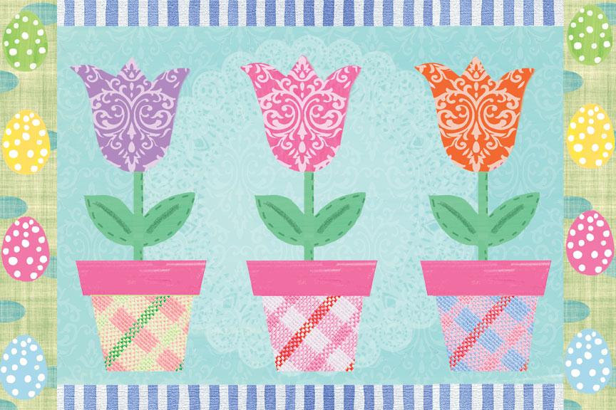 Easter, Eggs, Spring, Floral