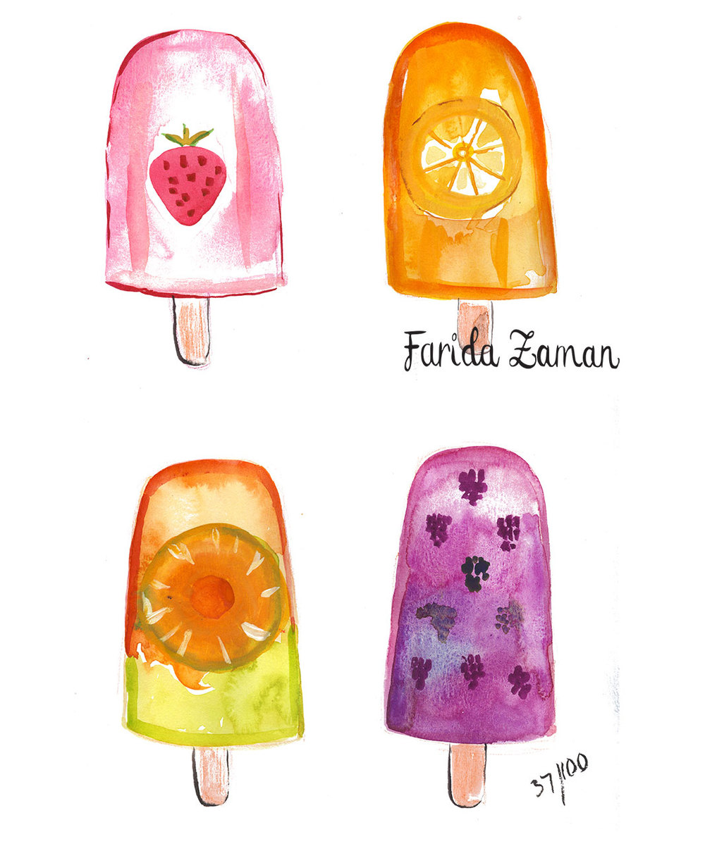 Ice Fruits