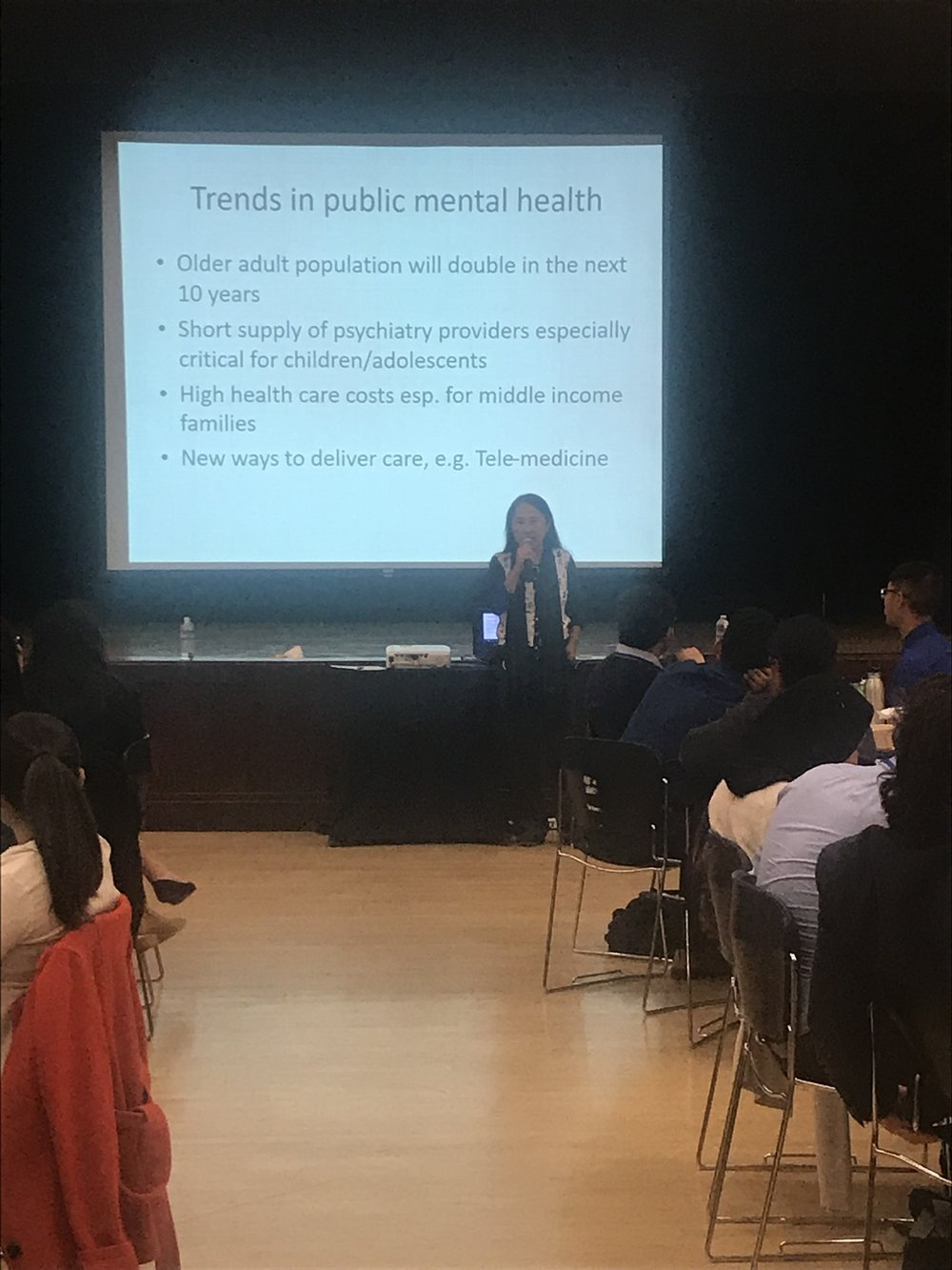 "Dr. Bhui presents ""Promoting Mental Health for our Communities and Ourselves and Exploring Behavioral Health Careers"""