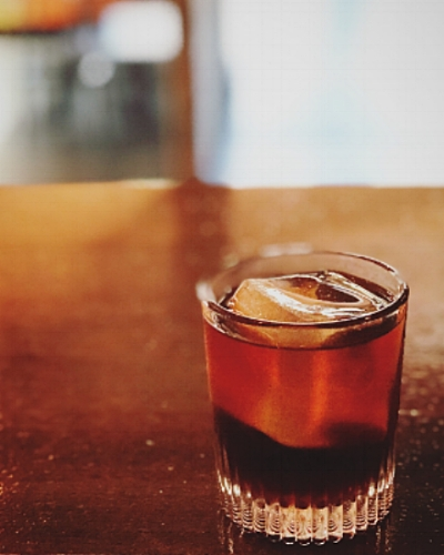 "The ""Moonwalk"" a collaboration we did for Negroni Week."