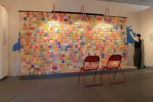 1100 PIECES Community Based Interactive Installation, Mixed Media, 16' x  11' x  6' deep, Laura Phelps Rogers.JPG