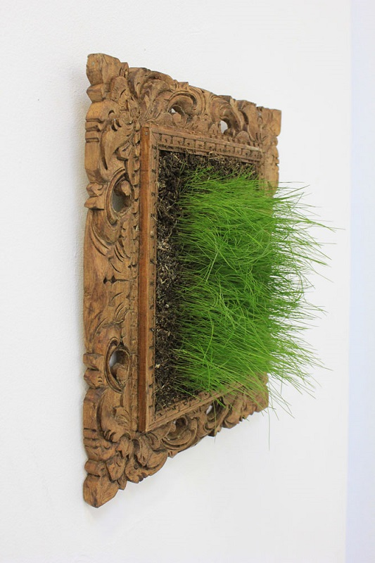Grass In Frame, temporary ephemeral installation, dimensions variable_LauraPhelpsRogers.jpg
