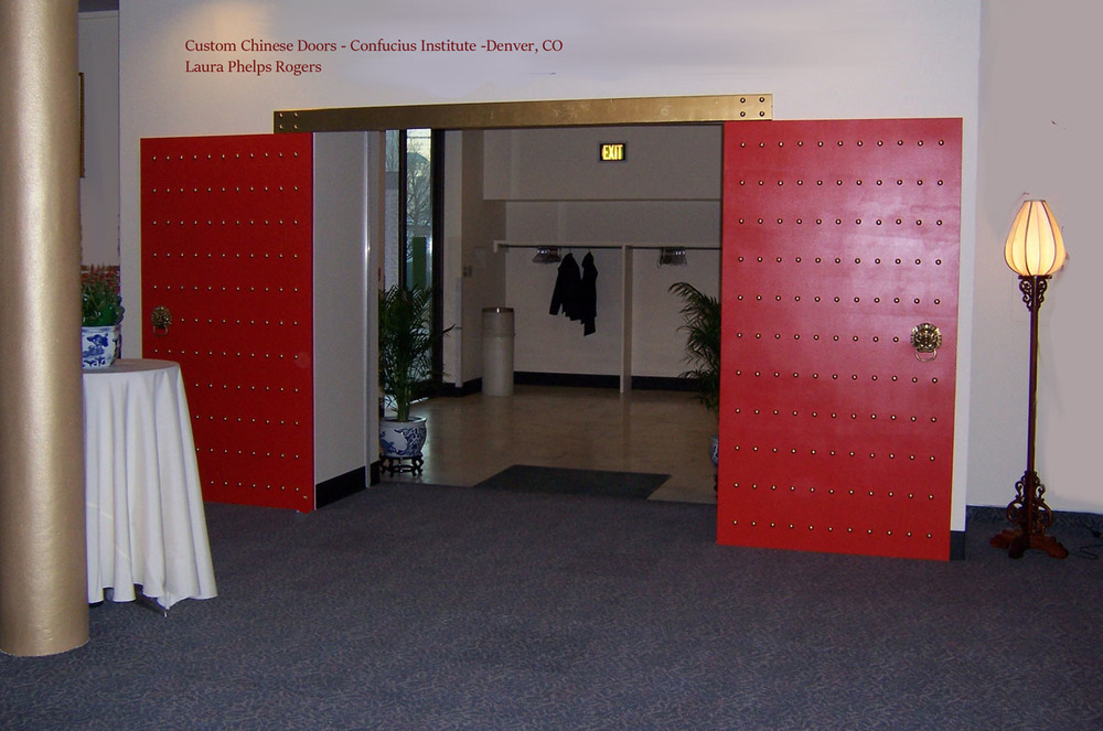 Red Chinese Doors, Custom Project, Confucius Institute_laura phelps rogers.jpg