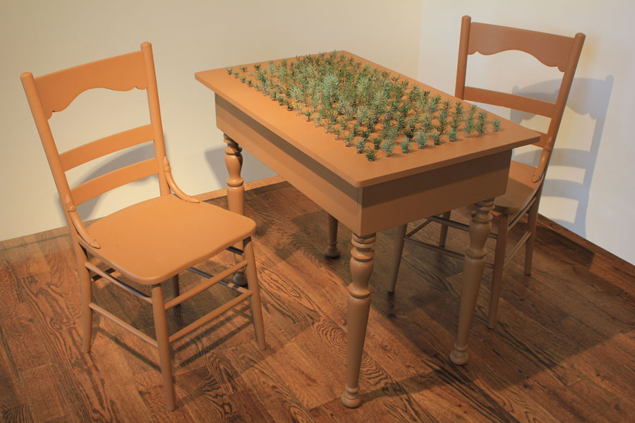 Blue Spruce Table and Chairs, Laura Phelps Rogers, Life Size available in Bronze, 2016.jpg