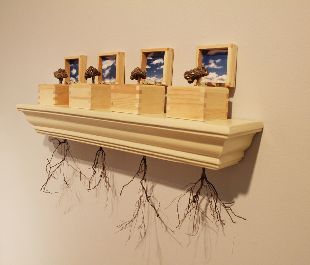 Nature Unbound, Laura Phelps Rogers, Cast Bronze, Digital Photograph, Dimensions Variable.jpg