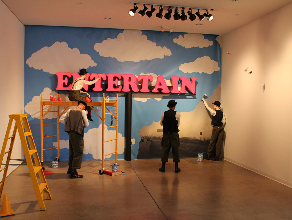 Entertain, Site Specific Installation, Laura Phelps Rogers, 2014.jpg